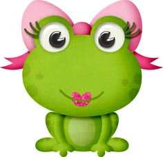 Venha se divertir no mundo dessas criaturas incríveis. Come and have fun in the world of these incredible creatures. Funny Frogs, Cute Frogs, Frog Pictures, Cute Pictures, Cute Animal Clipart, Frog Drawing, Frog Art, Lisa Frank, Frog And Toad