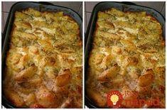 Pečené zemiaky robím často, dokonca aj tie s tvrdým syrom a smotanou. Najlepšie však boli vtedy, keď som do nich pridala aj jedno celé bambino v črievku. Mali fantastickú chuť!
