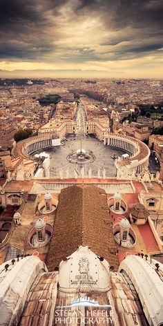 Vatican city, Capital of worlds smallest country.