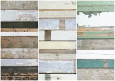 sloophouit behang / scrapwood wallpaper