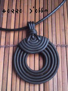 N°32 - pendentif - Terre d'Effa, The shop! - Fait Maison