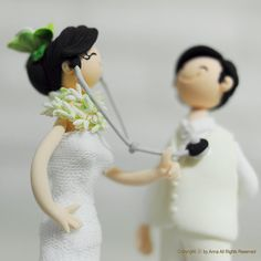 Nurse & Hubby Wedding Cake Topper. cute