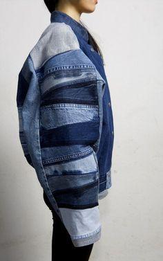 fade out label recycled upcycled vintage denim fashion berlin Fashion Week, Look Fashion, Fashion Details, Fashion Design, Fashion Trends, Curvy Fashion, Latest Fashion, Denim Jeans, All Jeans