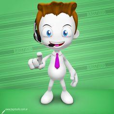 3D character creation pack #3d #character #design #render #cinema4d #download #businessman #mascot #cartoon #teach #smart #geek #cute