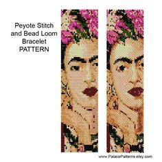 Peyote patrón patrón de abalorios de pulsera por PalacePatterns