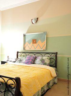 Ombre Bedroom Makeov