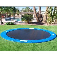 trampoline enterré