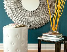 I pinned this from the Urban Trends - Cottage Chic Accents, Mirrors, Garden Stools & More event at Joss and Main!