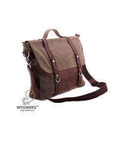Men's briefcase key wallet laptop bagcanvas briefcase by tmWigwag