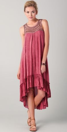 Rebecca Minkoff Dress Karla Maxi in Pink (rose) - Lyst