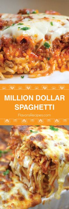 Million Dollar Spaghetti!The Million Dollar Deliciousness You See Before Yours Eyes