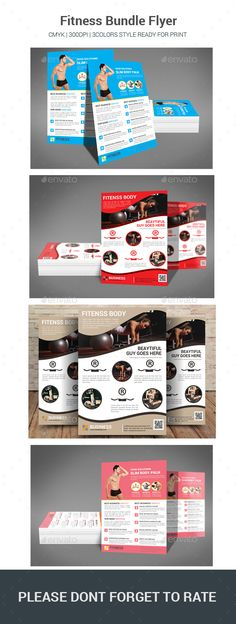 Fitness Flyer Template Flyer printing, Flyer template and Print