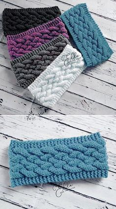Woven Cable Headband - Free Pattern - Knitting for beginners,Knitting patterns,Knitting projects,Knitting cowl,Knitting blanket Knitting Stitches, Knitting Patterns Free, Knit Patterns, Free Knitting, Free Crochet, Crochet Hats, Crochet Turban, Knit Hats, Knitting Projects