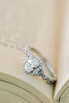 Amazing Kirk Kara Engagement Rings ❤ See more: http://www.weddingforward.com/kirk-kara-engagement-rings/ #weddings