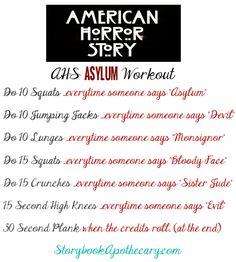 Ahs asylum workout