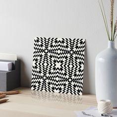 White Art, Black And White, Art Boards, Wall Art Decor, Artworks, Mandala, Abstract Art, Minimalist, Illustrations