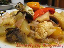 Ατελείωτες συνταγές μαγειρικής Potato Salad, Cauliflower, Pork, Potatoes, Chicken, Meat, Vegetables, Ethnic Recipes, Drink
