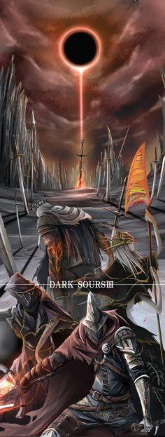 Abyss Watchers,DSIII персонажи,Dark Souls 3,Dark Souls,фэндомы,Aldrich Devourer of Gods,Yhorm The Giant,Lothric Younger Prince