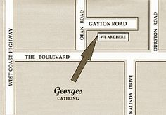 Georges catering cafe in Perth WA