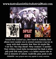 Australia & New Zealand: Gothic Industrial EBM Dark Electronic Music: Bands, Artists, Projects, Groups, Producers <