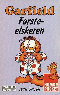"""""""Garfield - Førsteelskeren - Humorpocket nr 1"""" av Jim Davis"""