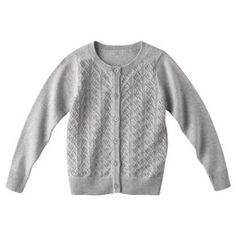 Cherokee® Infant Toddler Girls' Lace Stitch Sweater -