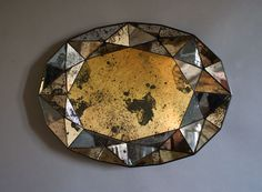 Sam Orlando Miller Untitled Mirror 1 Patinated silver mirror H 55 x W 76 x D 6 cm / medium 2011