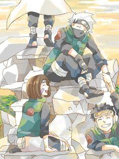Naruto - Team minato