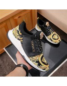 Shoes mens - Versace Casual Shoes For Men 679571 – Shoes mens Stylish Shoes For Men, Casual Shoes, Men Casual, Stylish Men, Versace Shoes, Versace Slippers, Versace Fashion, Versace Men, Zumba Shoes