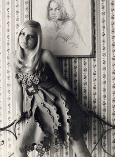 France Gall was a super popular French yé-yé singer.