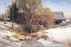 Kathryn Stats - West Kaysville Barn   Art - Inspiring Contemporary ...