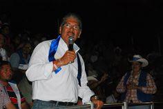 Norman Quijano futuro presidente de El Salvador en la Toreada de San Francisco Gotera.
