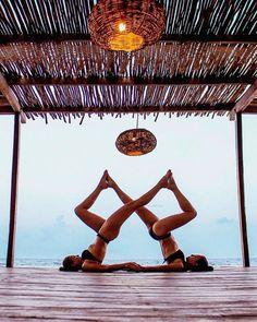 yoga poses for two people - yoga poses ; yoga poses for beginners ; yoga poses for two people ; yoga poses for flexibility ; yoga poses for beginners flexibility ; yoga poses for back pain ; yoga poses for beginners easy Two People Yoga Poses, Couples Yoga Poses, Acro Yoga Poses, Yoga Poses For Two, Partner Yoga Poses, Ashtanga Yoga, Vinyasa Yoga, Yoga Handstand, Kundalini Yoga