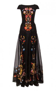 d70646e7c546 Long Toledo Dress - Temperley London on Melrose ...