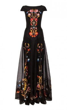 Long Toledo Dress - Temperley London on Melrose