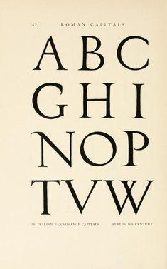 Alphabets old and new, Lewis F. Day, 1898 - - Álbuns da web do Picasa Trajan Font, Typography, Lettering, Penmanship, New York Public Library, 16th Century, Alphabet, Art Nouveau, Archive