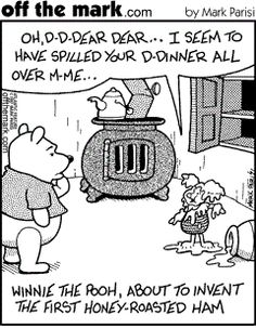 Winnie the Pooh's ingenious culinary invention...