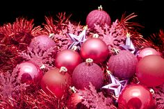 Pink Snowflake Christmas Ornament - Check out some terrific Christmas decorations!