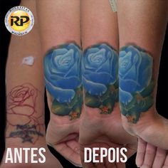 Tattoo cover up de hoje, usando Rotativas Pacheco. #coverup #roses #tattoos #rosetattoos #rj #tatuadoresrj #riodejaneiro #tatuagem #tattoosfemininas
