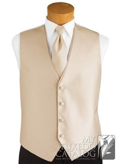 Champagne Tan 'Synergy' Vest from http://www.mytuxedocatalog.com/catalog/vests/VSY21-Champagne-Tan-Synergy-Vest/