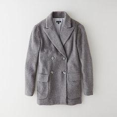 DELPHINE COAT in grey   Steven Alan