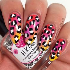 Would you try Gradient Leopard Nail Art by Raquel A? Vote on Preen.Me!