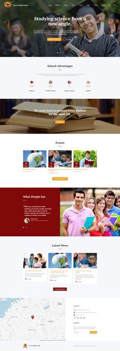 Education Responsive Website Template - http://www.templatemonster.com/website-templates/responsive-website-template-61182.html