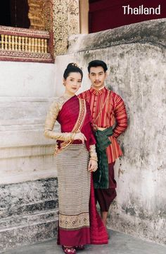 Traditional Thai Clothing, Thai Style, Ethnic, Thailand, Sari, Costumes, Clothes, Fashion, Guys