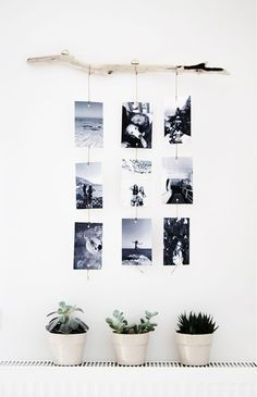 Make a photo wall yourself: ideas for a creative wall design Fotowand selber machen: Ideen für eine kreative Wandgestaltung Make a photo wall yourself: ideas for a creative wall design Diy Wand, Cheap Home Decor, Diy Home Decor, Decoration Home, Simple Bedroom Decor, Photo Decorations, Cheap Bedroom Ideas, Cheap Office Decor, Christmas Decorations