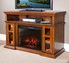 Classic Flame Pasadena Electric Fireplace Review--28MM468PortableFireplace.com