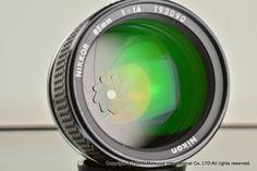 NIKON AI-S NIKKOR 85mm f/1.4 Excellent #Nikon