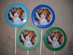 "1 Chocolate Edible Decal 3"" Where the Wild Things Are Lollipops Lollipop max"