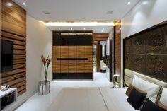 Interior Design Project, Doshi Residence from Gaurav Kharkar & Associates Interior Design Blogs, Bedroom Cupboard Designs, Wardrobe Design Bedroom, Bedroom Designs, Contemporary Bedroom, Modern Bedroom, Bedroom Colors, Bedroom Decor, Bedroom Ideas