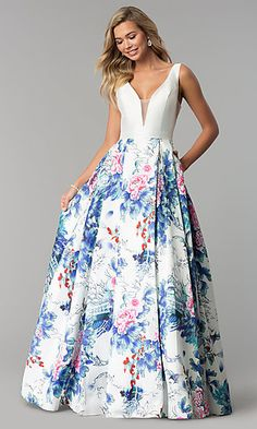 Shop PromGirl for prom dresses like Long prom dresses, short prom dresses, plus size prom dresses, homecoming dresses, and party dresses. V Neck Prom Dresses, Pink Prom Dresses, Blue Wedding Dresses, Strapless Dress Formal, Floral Dresses, Wedding Guest Gowns, Moda Floral, Mini Skirt Dress, Plus Size Formal Dresses